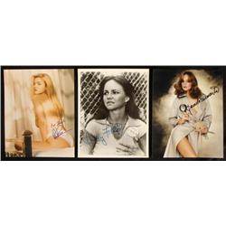 Signed Photos Barrymore Field Sue Martin Actresses