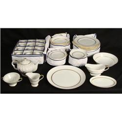 Claridge Marquise China 54 Pc Dinnerware Set for 12 MIJ