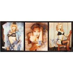 Three Traci Lords Porn Star Signed Photographs