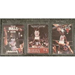 Michael Jordan Schedules 1984-85 1986-87 1987-88 Bulls