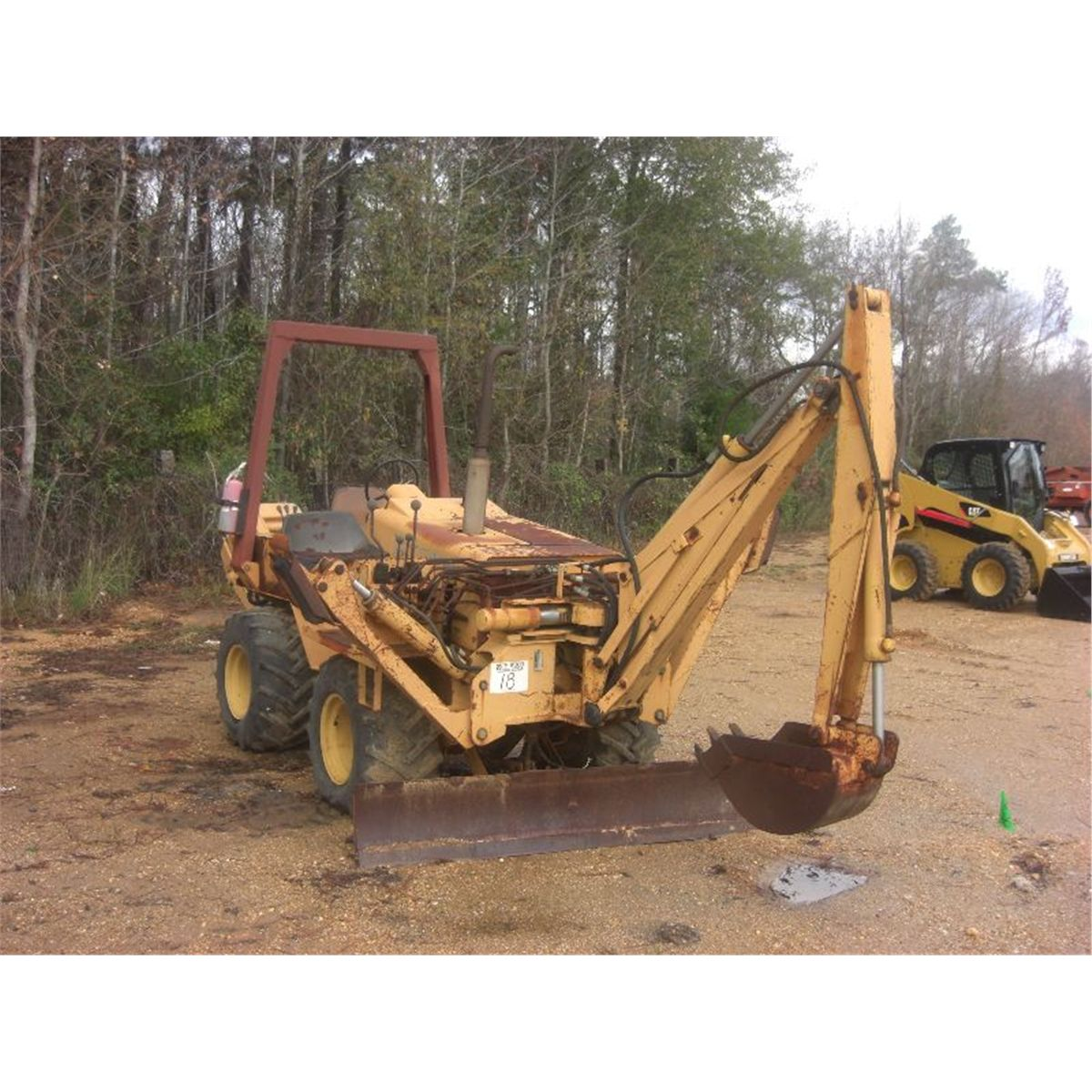 CASE DH4B TRENCHER