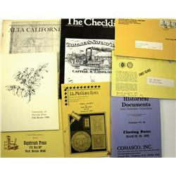 Bookseller Americana Catalogs (3 boxes) :