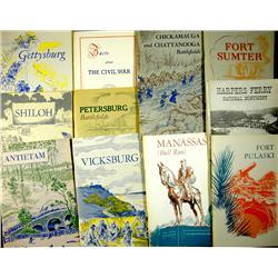 1960 - Civil War Location Booklets :