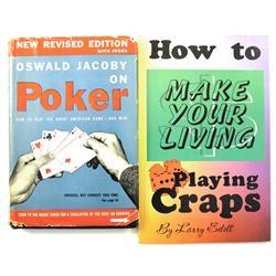1940s, 1990s - Gambling Books :