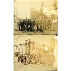 Miners Pose Photograph :