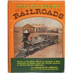 Pacific Slope Railroads Book :