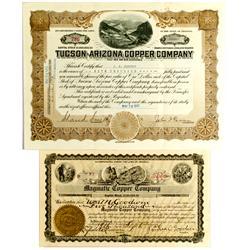 AZ - Arizona Stock Certificates :