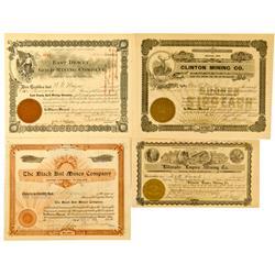 AZ - Arizona Stock Certificates *Territorial* :