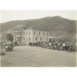 Yuma,AZ - 1917 - Hotel and Café Photograph :