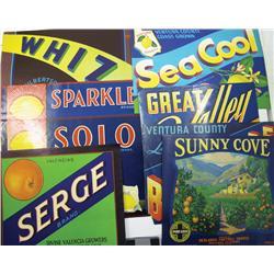 CA - c1935 - California Orange Crate Labels :