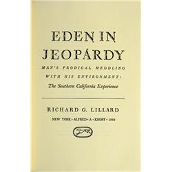 CA - 1966 - Eden in Jeopardy, Book :
