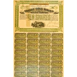 CA - Oneida Gold Mining Stock :