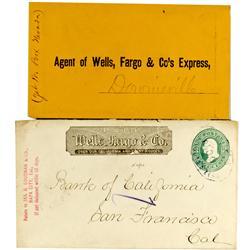 CA - c1860s-70s - Wells Fargo Covers :