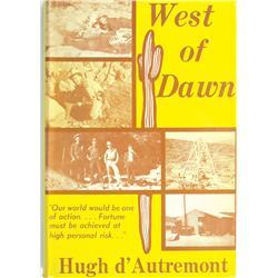 CA - 1971 - West of Dawn, Book :