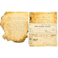 Bodie,CA - Mono County - 1870s-1890s - Bodie Document Group :