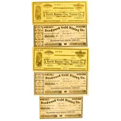 Nevada City,CA - Nevada County - 1877-1884 - California Gold Rush Collection :