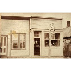 Nevada City,CA - Nevada County - c1880 - Clock Repair Shop Photograph :