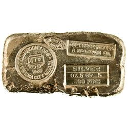Nevada City,CA - Nevada County - c1980 - Nevada City Mint Souvenir Ingot :