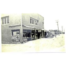 Palm City,CA - San Diego County - c1920 - Street view with Stage Office Photograph :