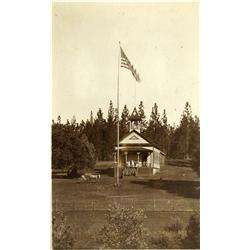Pine Grove,CA - Amador County - c1890 - School House Photograph :