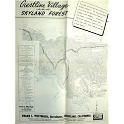 San Bernardino,CA - 1947 - Lake Gregory Development Maps :