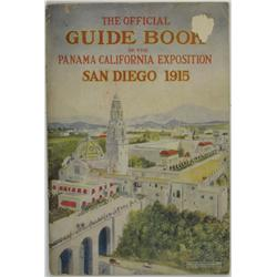 San Diego,CA - 1915 - Guide Book, Panama-California Expo, San Diego :