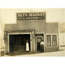 San Francisco,CA - c1900 - Alta Market Photograph :