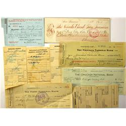 San Francisco,CA - 1893-1953, 1960s Business Documents :