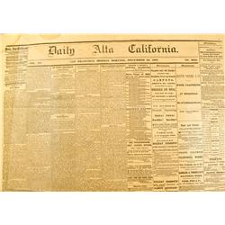 San Francisco,CA - 1854 (1)1863(3) - Daily Alta California Newspapers :