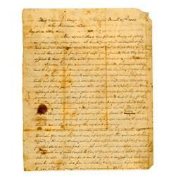 San Francisco,CA - March 27, 1853 - Genesee to San Francisco Correspondence :