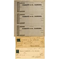 San Francisco,CA - Gibbs Signature, Parrot & Co., Mssr., Bankers :