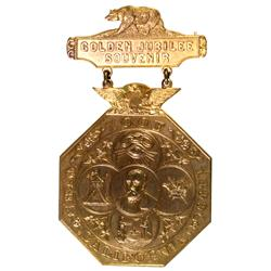 San Francisco,CA - 1899 - I.O.O.F. 1899 Badge :