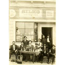 San Francisco,CA - Silko Cigarettes & Depot Beer Saloon Photograph :