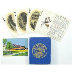 San Francisco,CA - Southern Pacific Railroad Playing Cards :