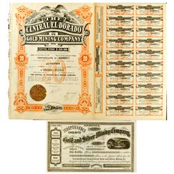 CO - 1910 - Colorado Mining District Stock Certificates :