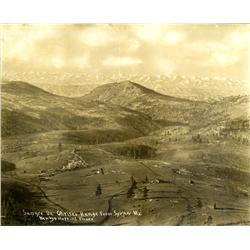 Chaffee County,CO - c1900-1905 - Sangre De Christo Range Photograph :