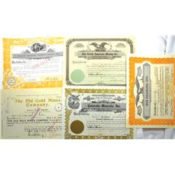 Cripple Creek,CO - Teller County - 1901-1980 - Colorado Mining Stock Certificates :