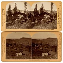 Cripple Creek,CO - 1897/1898 - Mining/Miner Stereoviews :