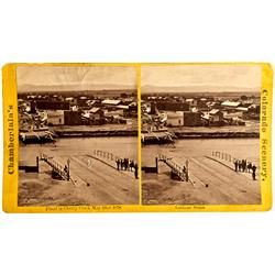 Denver,CO - Denver County - c1878 - Flood Scene Stereograph Photograph :