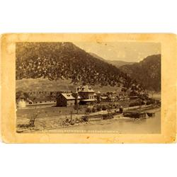 Glenwood Springs,CO - Garfield - c. 1895 - Hotel Colorado Pool and Bath House Photograph :