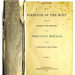 Washington,DC - 1883 - Annual Production of the Precious Metals in The United States :