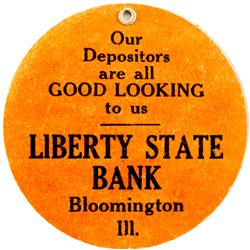 Bloomington,IL - McClean County - Liberty State Bank Mirror :