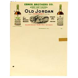 KY - Ebner Brother Co. Letterhead :