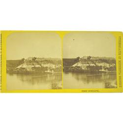 Fort Snelling,MN - Hennepin County - 1836-1918 - Fort Snelling, MN. Stereoview :