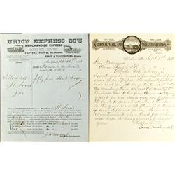 MO - 1851-1888 - Missouri Express Mail Collection :