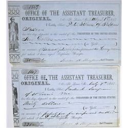 St. Louis,MO - Independent City County - 1857 - Office of the Assistant Treasurer of St. Louis Recei