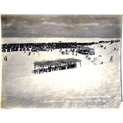 Alamogordo,NM - Otero County - c1934 - White Sands Auto Extravaganza Photograph :