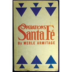 Sante Fe,NM - Santa Fe County - 1948 - Operations: Santa Fe, Book :