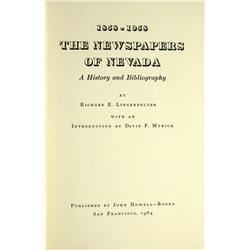 NV - 1964 - 1858-1958: The Newspapers of Nevada :