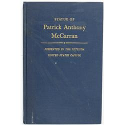 NV - 1960 - Acceptance of the Statue of Patrick Anthony McCarran (Publication) :